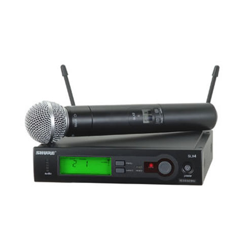SLX24/SM58 Wireless Handheld System w/ SM58 Microphone - H5 (24MHz) 518-542