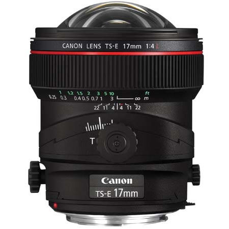 Image of Canon TS-E 17mm f/4L Tilt Shift Lens