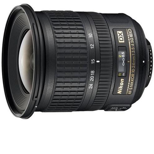 AF-S 10-24mm f3.5-4.5G DX Nikkor Wide Angle Zoom Lens