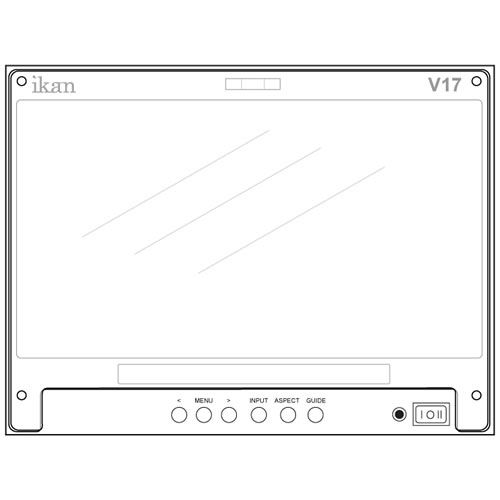 SP17 Screen Protector for V17 Monitor