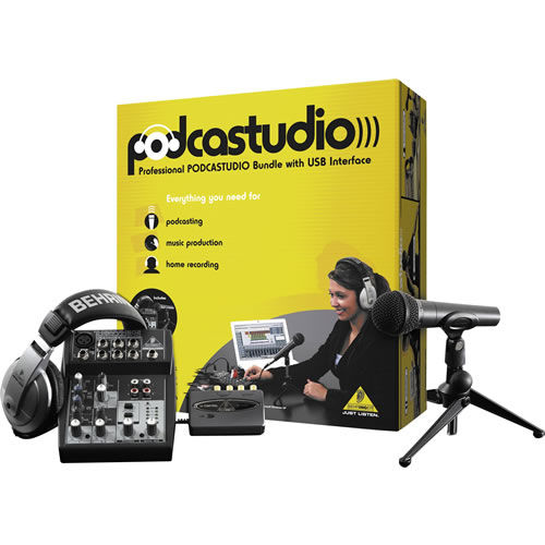 PODCASTUDIO USB Bundle with USB Interface