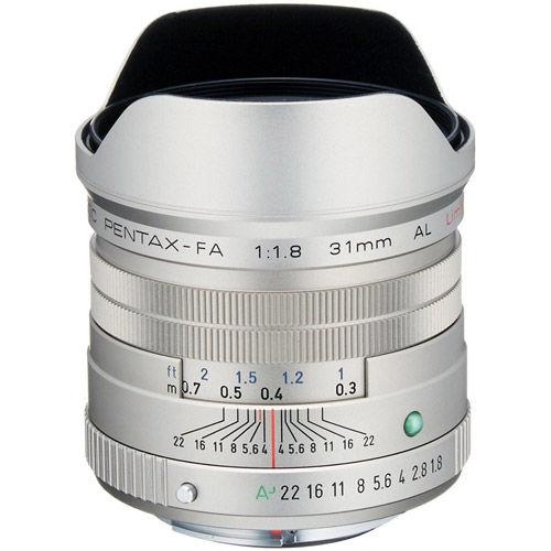 smc P-FA 31mm f/1.8 Lens - Silver