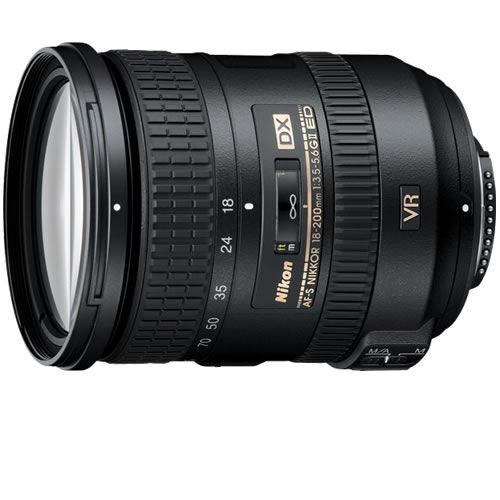 AF-S DX NIKKOR 18-200mm f/3.5-5.6 G ED VR Lens
