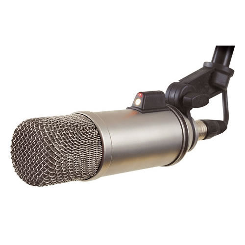 Broadcaster Cardioid Condenser Microphone (Requires 24v Phantom Power)