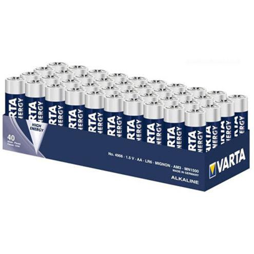 AA Alkaline 1.5V 40 Pack