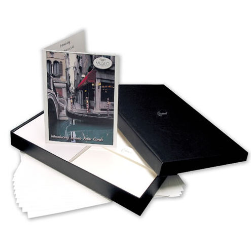 """5.25""""x5.25"""" Museo Artist Cards 220gsm Square 100 Pack (Cards & Envelopes) Baronial"""