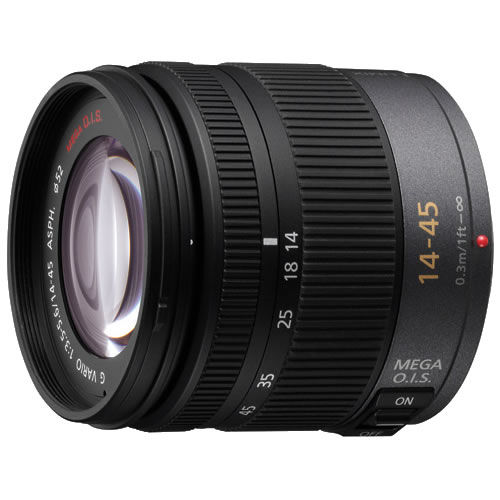LumixVario 14-45mm f/3.5-5.6 ASPH Mega OIS Micro 4/3 Lens