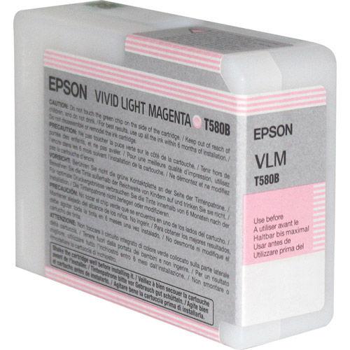 T580B00 Vivid Light Magenta 80ml Stylus Pro 3880
