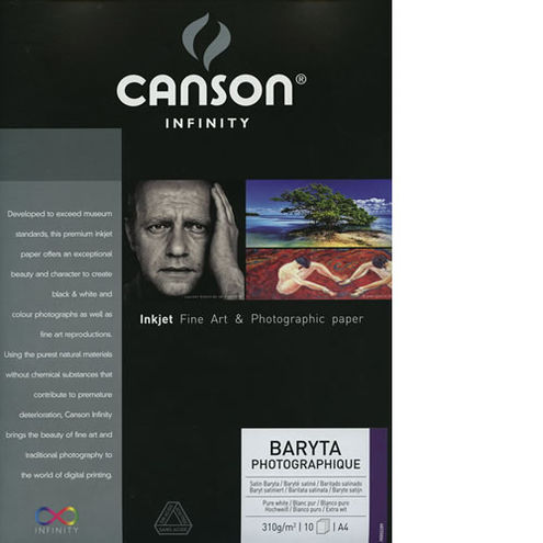 "17"" x 50' Infinity Baryta Photographique Satin - 310 gsm - Roll"