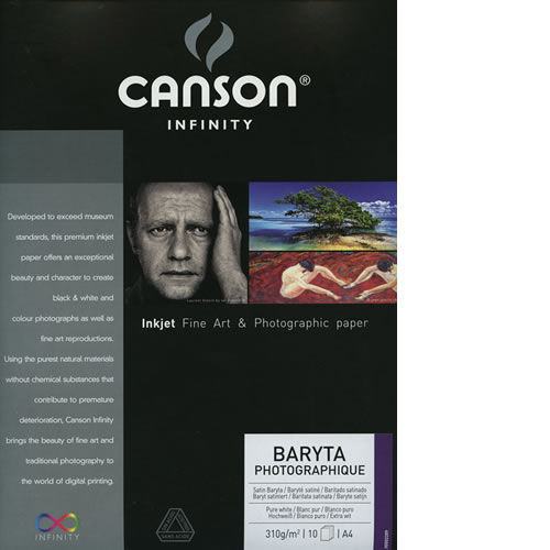 "36""x50' Baryta Photographique 310gsm 1 Roll"