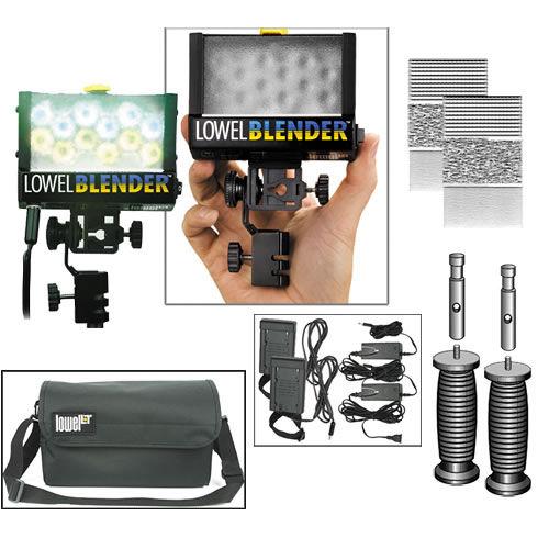 Blender Duo AC/DC-Panasonic Pack 2 Blenders  AC Adapter, Diffusers , Battery Sled, Bag