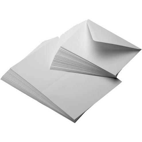 "7""x10 Entradalopes 190 Natural 25 Scored Cards/ 25 Envelopes"