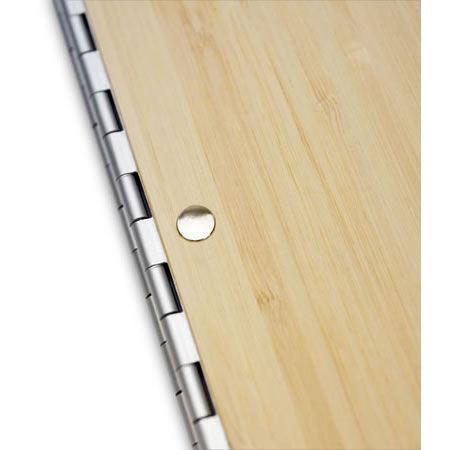 Bamboo 8.5x11 Portrait Screwpost Binder / Natural