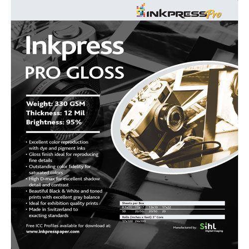 "13"" x 19"" PRO Gloss 330gsm 50 Sheets"
