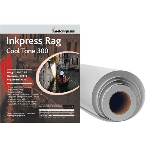 "36"" x 50' Rag Cool Tone DUO 300gsm 24mil Roll"
