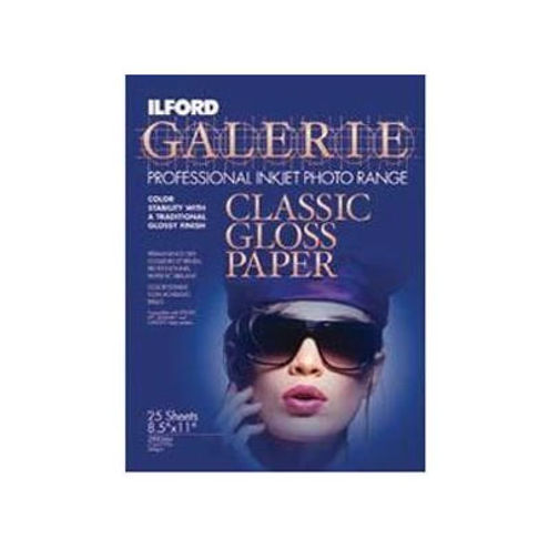 "8.5""x11"" Classic Gloss 240gsm 25 Sheets for dye printers"