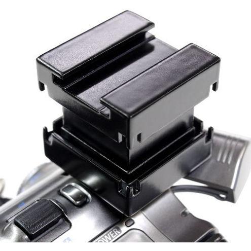 Mini Shoe to Universal Multi Shoe Adapter for Canon Consumer, Black v.2