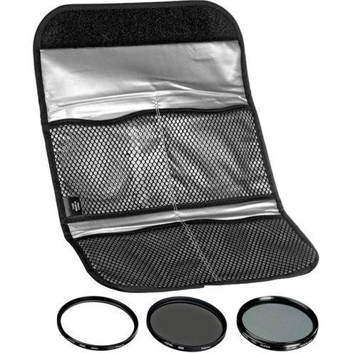 40.5mm Digital Filter Kit UV, PL-CIR,  Neutral Density 8x, Pouch