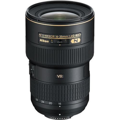 AF-S 16-35mm f/4 G ED VR Nikkor Wide Angle Zoom Lens