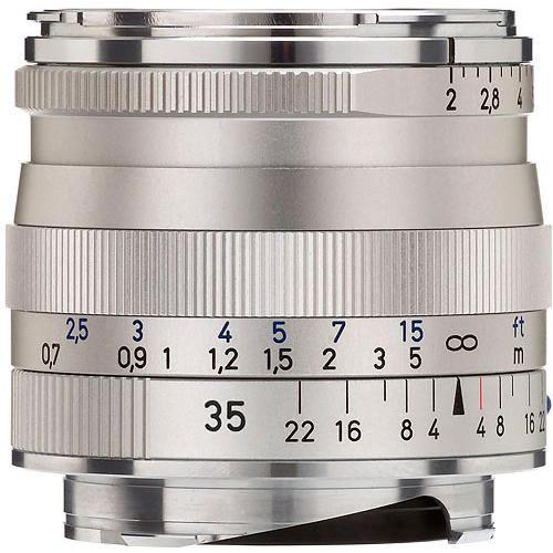 Biogon T* 35mm f/2.0 ZM Silver
