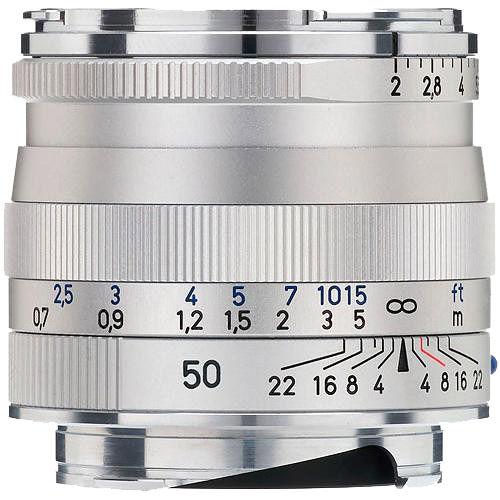 Zeiss Planar T* 50mm f/2 0 ZM Silver