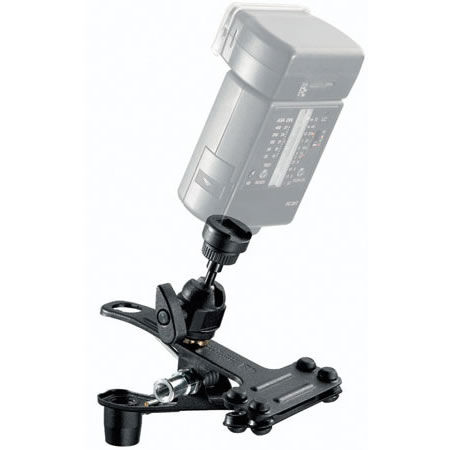 175F1 Spring Clip Clamp with Hot Shoe Attachment