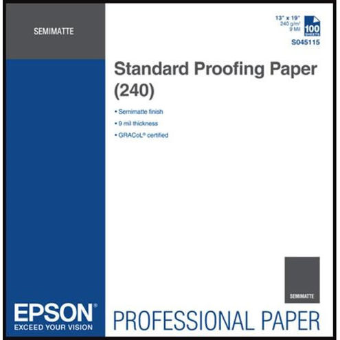 """13"""" x 19"""" Proofing Paper Standard 240gsm 100 Sheets"""