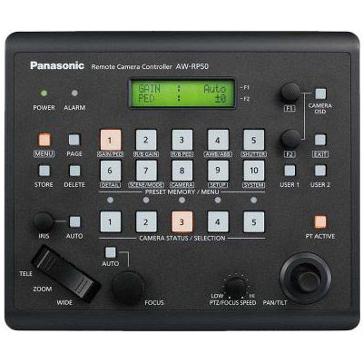 AW-RP50N Compact Pan/Tilt Camera Controller for AW-HE50