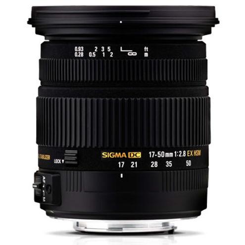 AF 17-50mm f/2.8 EX DC OS HSM Lens for Nikon