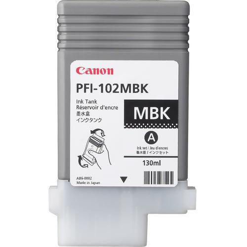PFI-102MBK - Pigment Matte Black Ink Tank 130ml