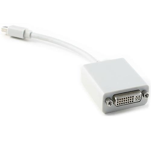 Mini DisplayPort M to DVI F Adapter