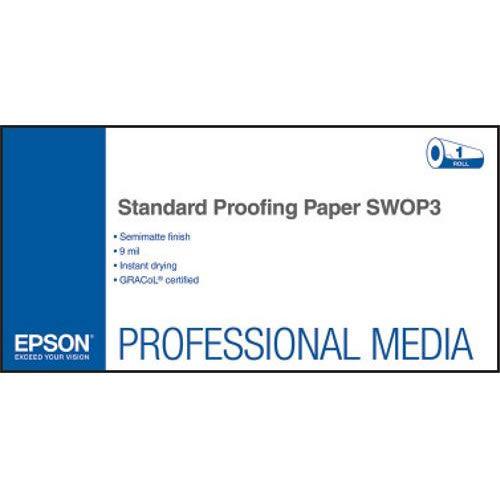 "44"" x 100' Standard Proofing Paper SWOP3 Roll"