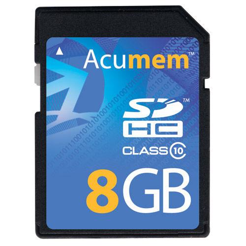 8GB SDHC Platinum Card