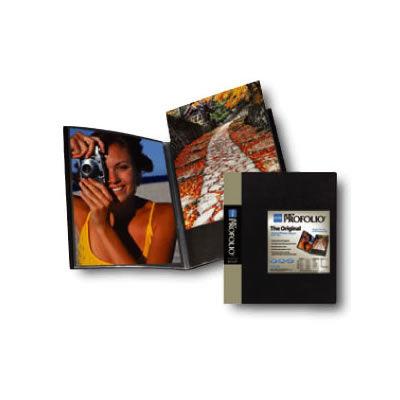 "8 1/2""x11"" Presentation Book Original Art Profolio Black 36 Pages"