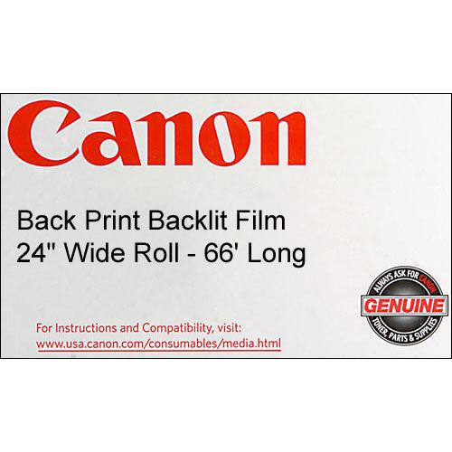"""24""""x66' Back Print Backlit 5 mil - Film"""