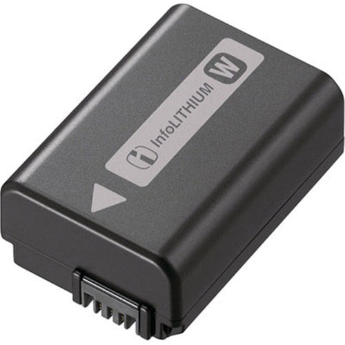 NPFW50 Battery for RX10, Alpha A7/A7II Series & A6000/6300/6500 Series