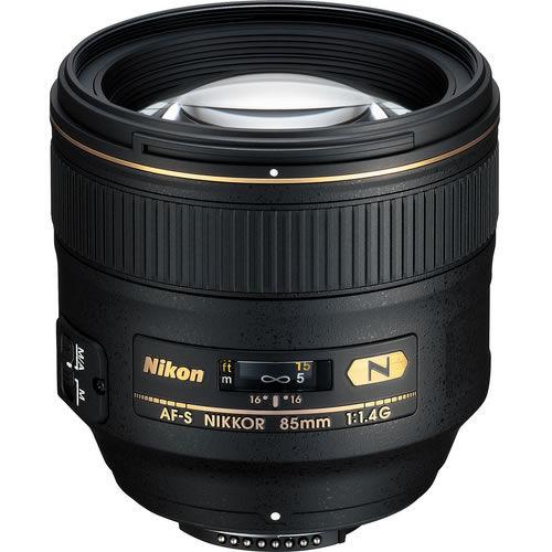 AF-S NIKKOR 85mm f/1.4 G Lens