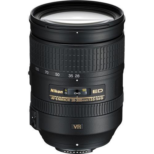 AF-S NIKKOR 28-300mm f/3.5-5.6 G ED VR Lens