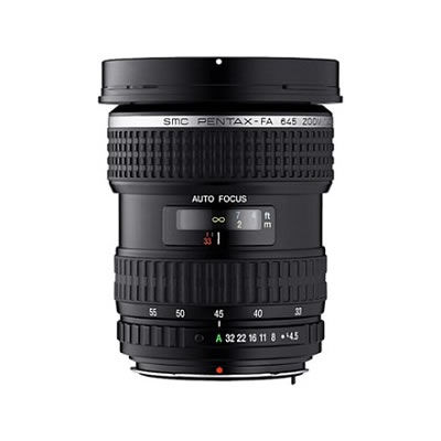 smc P-FA 645 33-55mm f/4.5 AL Lens
