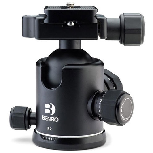 B2 B-Series Triple Action Ball Head Arca-Swiss for Benro 2 and 3 Series Tripods