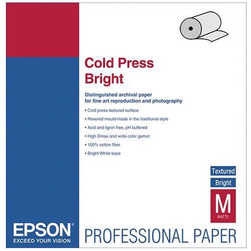 """44"""" x 50' Cold Press Bright Roll"""