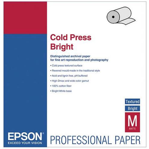 """60"""" x 50' Cold Press Bright Roll"""