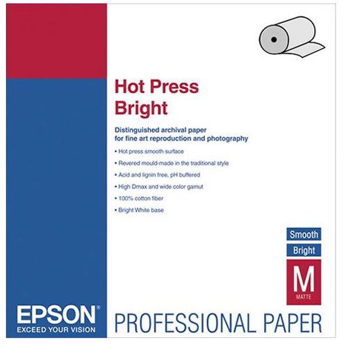 """17"""" x 50' Hot Press Bright Roll"""
