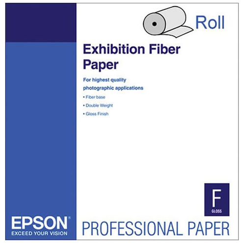 "24"" x 50' Exhibition Fiber 325gsm Paper Roll"