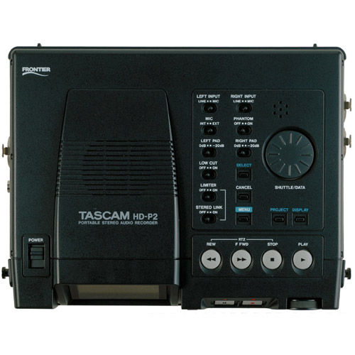 HD-P2 Hi-Def Stereo Audio Recorder