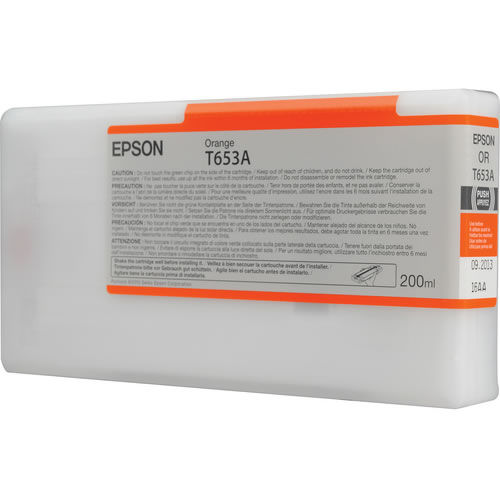 T653A00 Orange 200ml SP4900 Ink Cartridge