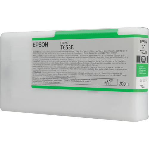 T653B00 Green 200ml SP4900 Ink Cartridge