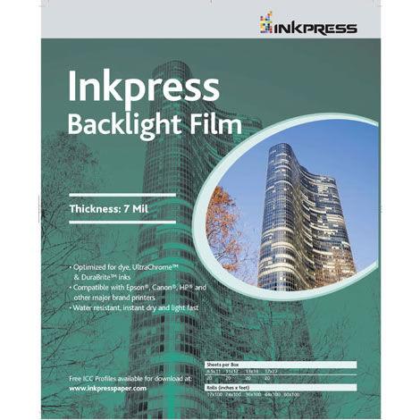 "8.5"" x 11"" Backlight Film 7 Mil 50 Sheets"