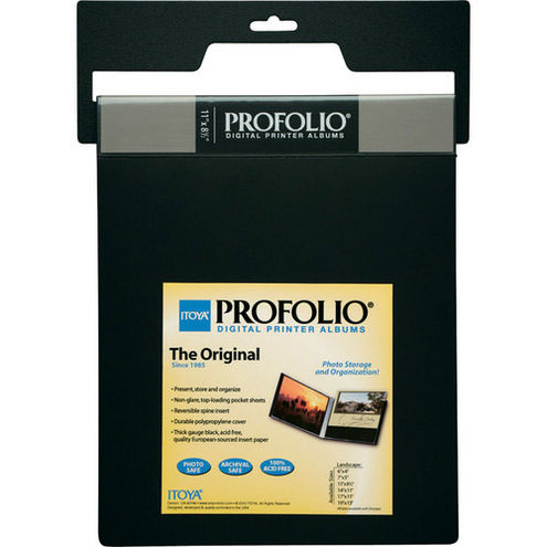 "11"" x 14"" Profolio ID-Series Landscape Digital Photo Album"