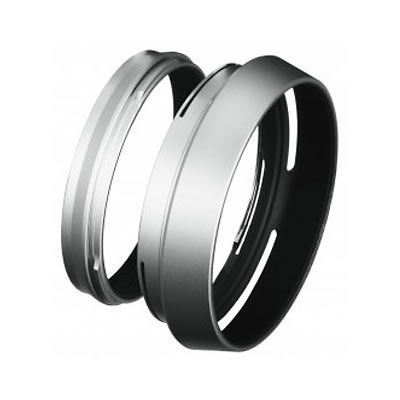 LH-X100S Silver Lens Hood + Adapter Ring for X100 Series